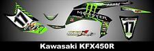 KAWASAKI KFX 450R SEMI CUSTOM GRAPHICS KIT LINER