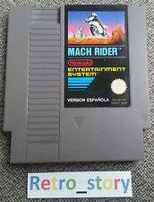 Nintendo NES Mach Rider Version Espanola PAL