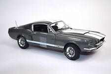 SHELBY GT-350 FORD MUSTANG 1967 METALLIC GRAPHITE 1:18 AUTOWORLD 1060 NEW