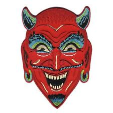 Fun House Devil Patch Embroidered Iron Jacket Applique Retro Monster Diablo