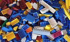Lego 100 Stück Dachziegel bunt Dach verschiedene Formen und Größen Basic Basis