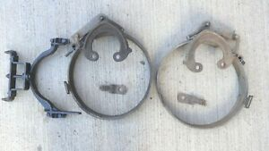 1926 1927 Model T Ford ROCKY MOUNTAIN REAR BRAKE SHOES Original A-C pair