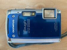 Olympus Tough TG-610 14.0MP Digital Camera-Blue, w/16mb card, case, charge cable