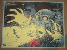 IRON MAIDEN concert gig poster print KILLERS Godmachine