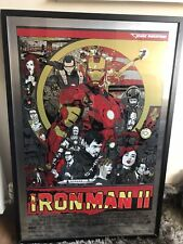 Tyler Stout Iron Man 2 Mondo Metal Variant Limited / 65