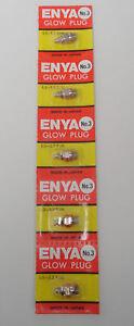 Enya #3 Hot Heat Nitro Glow Plug - 5 Pack