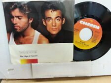 """WHAM! 45 RPM """"The Edge of Heavenr & """"Blue (live in China)"""" w/ pic sleeve VG+"""