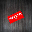 USA Supreme Sticker Box Logo red Classic Laptop Decal JDM, laptop, wall pack fly