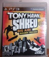Tony Hawk: Shred (Sony PlayStation 3, 2010) NEW Sealed! PS3
