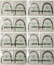 10Pks Orthodontic Arch Wires Rectangular/Round Stainless Steel/Niti Oval Dental