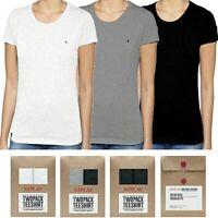 REPLAY 2 pack t-shirt da donna bianco nero grigio maglietta cotone slim S M L XL