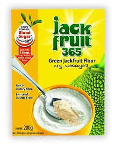 Jack fruit powder-Jackfruit365 Green Jackfruit Flour - 200gm