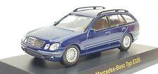 1/64 Kyosho MERCEDES BENZ TYPE E320 WAGON BLUE diecast car model *READ