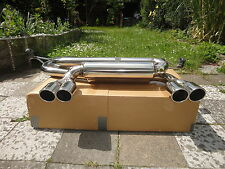 Sport Exhaust BMW M3 e46 New System End Silencer M3 Coupe Cabrio