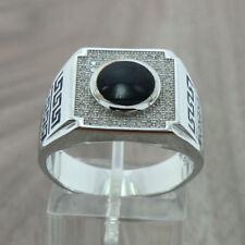 Ringe mit Edelsteinen echten 63 mm Ø) Onyx (20,0