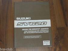 SUZUKI SV 620 / VITARA Zündspule mit integriertem Schaltgerät WERKSTATT HANDBUCH
