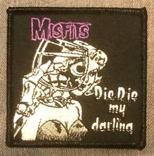THE MISFITS die my darling EMBROIDERED IRON-ON PATCH *Free Shipping* earth a.d.