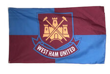 West Ham United Flag Banner 3 x 5 ft Hammers England Premier Football Soccer