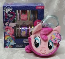 Hasbro My Little Pony MLP Bangles Set Pinkey Pie Ponytail Purse both NEW NIB