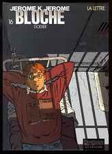 JEROME K.J. BLOCHE   16   LA LETTRE     EO  2002    DODIER