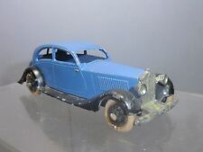 "VINTAGE DINKY TOYS MODEL No.30b  ROLLS ROYCE SALOON     ""  LIGHT BLUE VERSION  """