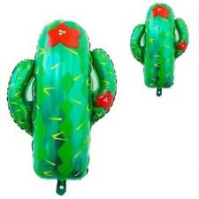 1pcs Large Cactus Tree Helium Foil Balloons Hawaii Forest Party Decor