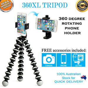 360XL Flexible Octopus Tripod | The Ultimate Phone Adapter | iPhone Samsung
