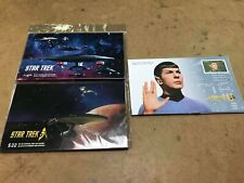 NEW SEALED Lot of 19 Canada Star Trek First Day Covers for Stamps