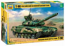 Zvezda 1/35 T-90 Russian MBT Plastic Model Kit 3573