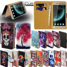 Flip Leather Card Wallet Stand Cover Phone Case For Xgody Smartphones + Strap