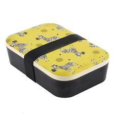 Ziggy Zebra Bambus Lunchbox - Brandneu