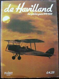 de Havilland. The Golden Years 1919 to 1939