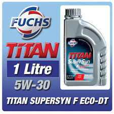 NEW! FUCHS TITAN SUPERSYN F ECO-DT 5W-30 1 LITRE FORD DURATORQ DIESEL ENGINE OIL