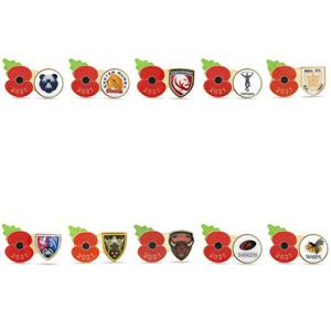 2021 Poppy Rugby Pins | Royal British Legion | 2021/22