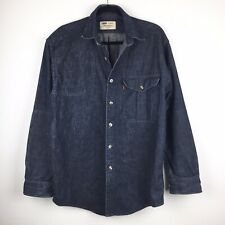 Filson x Levi's Denim Shirts Made in USA  Size M Hunting Gun Patch Work Chore