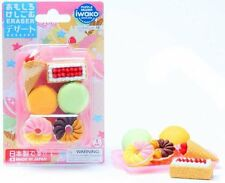 Set of 10 Iwako Japanese French Pastry Eraser Set S-3418x10