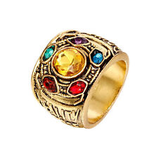MARVEL INFINITY STONES RING | Gauntlet Avengers 3 Thanos Gems Space Time Soul