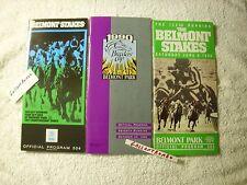 30 YEAR OLD 1989 GEM MINT BELMONT STAKES PROGRAM SUNDAY SILENCE EASY GOER