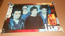 The Cure Live Promo 1993 Original Poster 20x30
