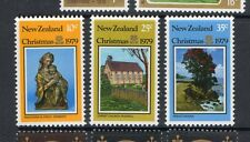 New Zealand 1979 Christmas unmounted mint set of stamps