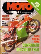 MOTO JOURNAL  485 DUCATI 900 Mike Hailwood Replica MHR Montesa Honda 200 1980