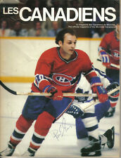 1980 (Jan.3) Hockey Program, Chicago Blackhawks @ Montreal Canadiens Guy Lafleur