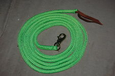 14' LIME GREEN TRAINING YACHT ROPE LEAD FOR PARELLI METHOD