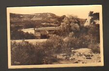 MOIRANS (39) PONT DE LA PILE Métallique , bords de l'AIN en 1946