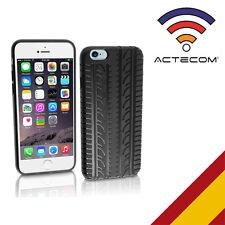 ACTECOM® FUNDA CARCASA SILICONA PARA IPHONE 5C-5 C NEUMATICO+PROTECTOR PANTALLA