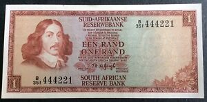 South Africa: Vintage One Rand  ***UNCIRCULATED*** Banknote