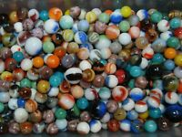 LOOK  400 Marbles: Jabo, Champion Agate, Marble King Good Variety