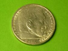 Paul von Hindenburg - 5 Reichsmark von 1936, A