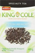 King Cole English Breakfast Tea 20 Bags 40g Canada Barbours New Brunswick