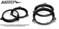 """Metra 82-7400 (2) 6"""" To 6.75"""" Speaker Mount Adapters For Select Nissan Models"""